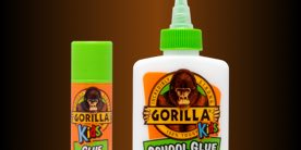 Gorilla Kids Glue Stick and School Glue
