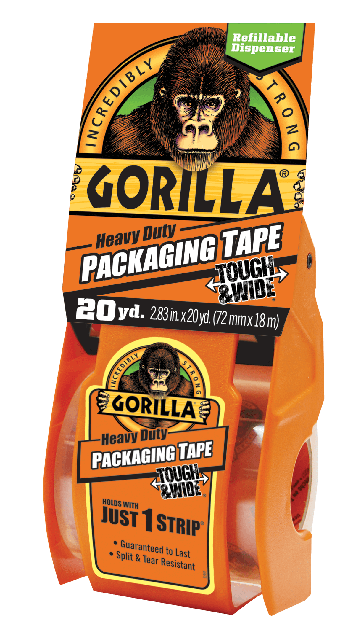 Gorilla Heavy Duty  Packaging Tape Tough & Wide