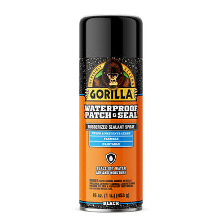 Gorilla Waterproof Patch and Seal Spray Black