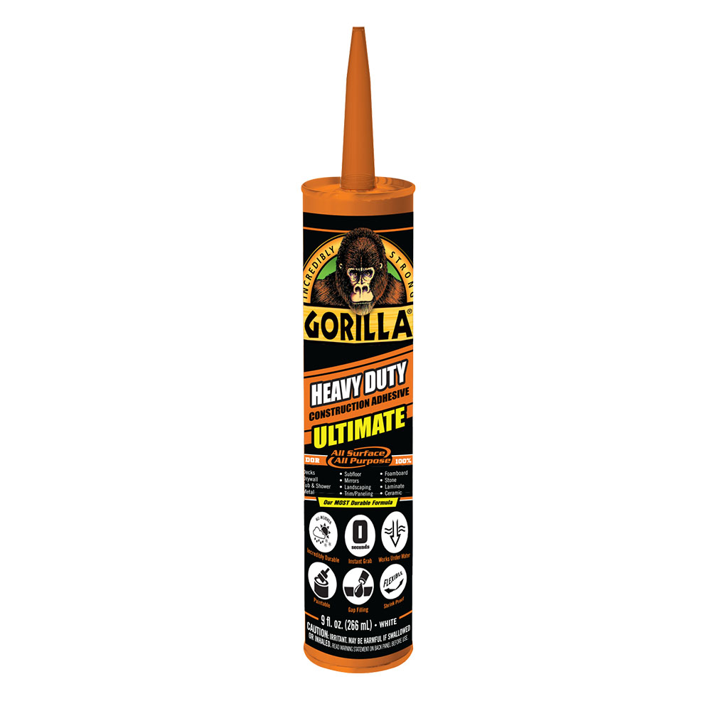 Gorilla Heavy Duty Construction Adhesive ULTIMATE