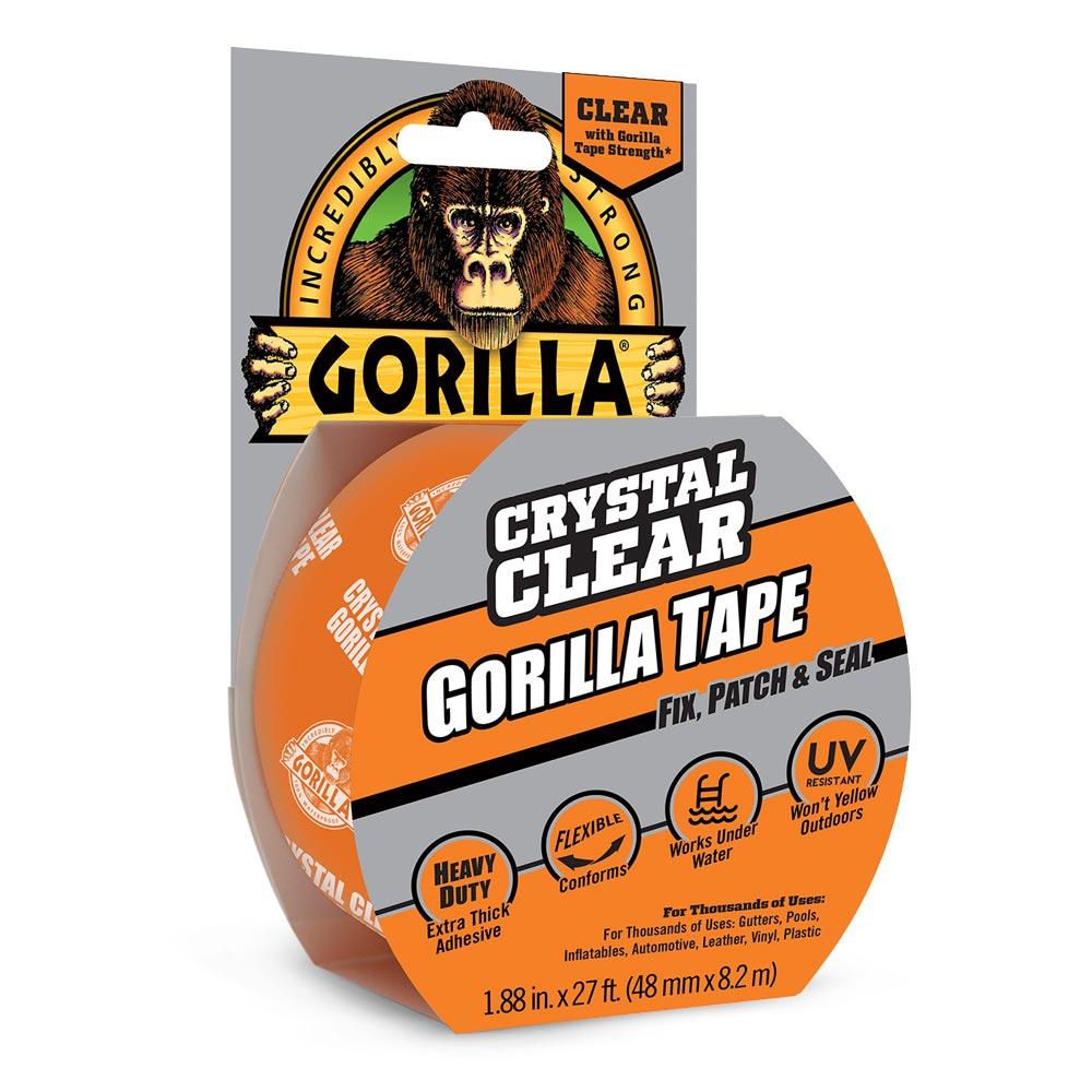 Crystal Clear Gorilla Tape | Gorilla Glue | Gorilla Glue
