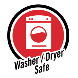 Washer/dryer safe