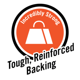 incredibly strong tough reinforced backing