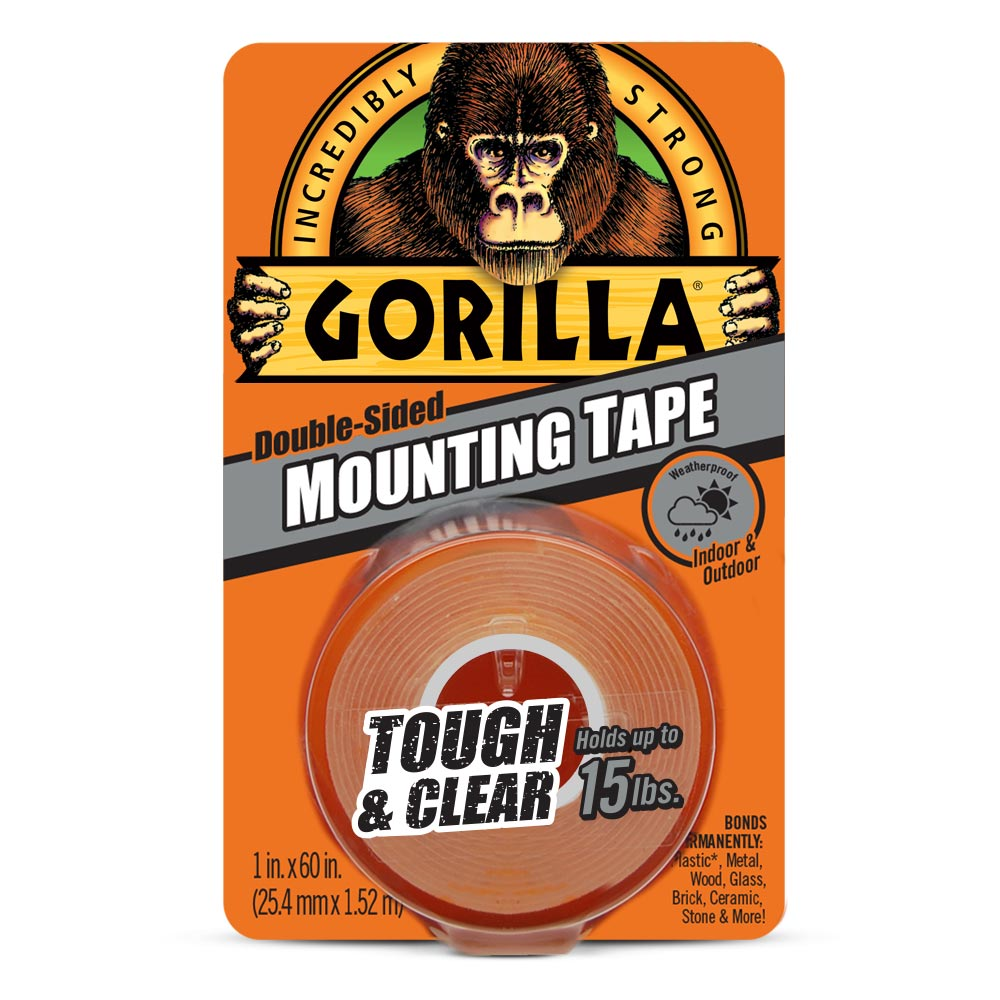 Gorilla Tough U0026 Clear Mounting Tape