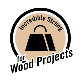 Incredibly strong for wood projects