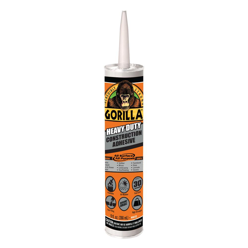 Gorilla Heavy Duty Construction Adhesive