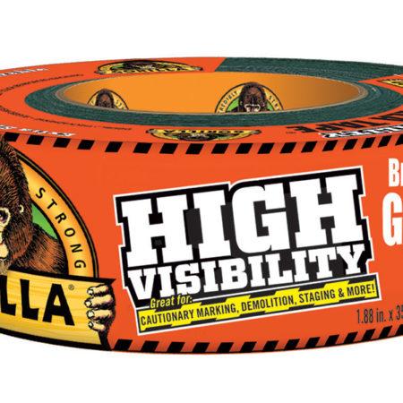 High Visibility Gorilla Tape: Blaze Orange