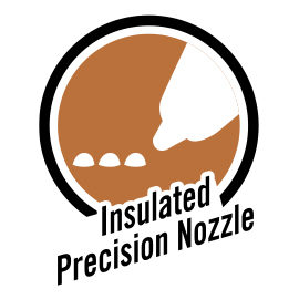 insulated precision nozzle