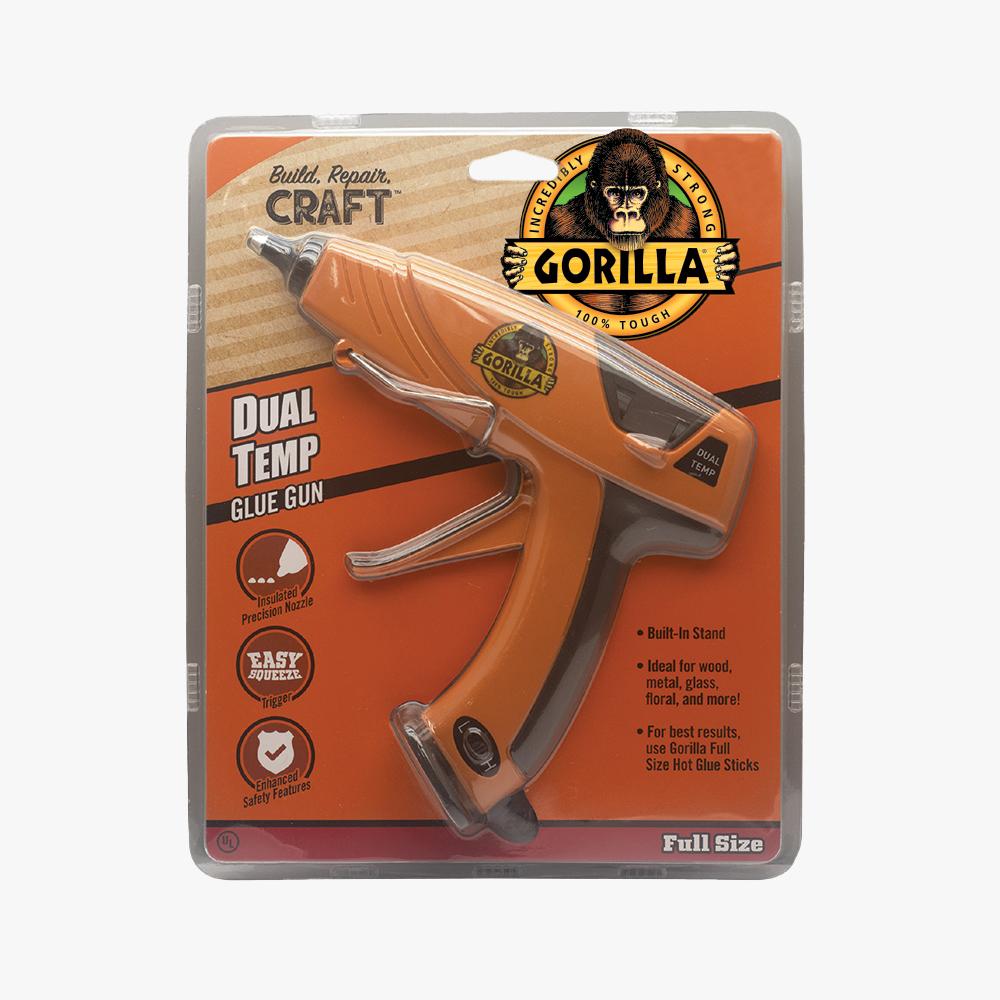 Gorilla Dual Temp Full-Size Hot Glue Gun