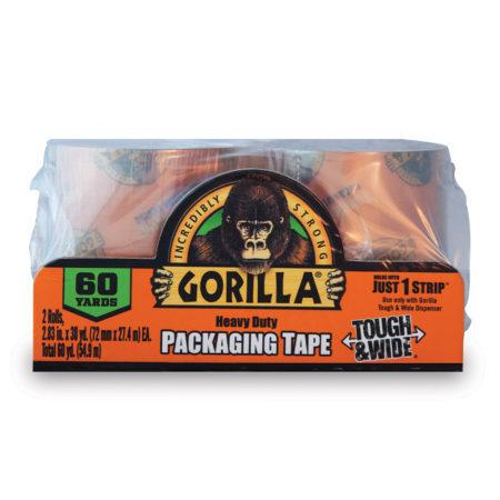 Gorilla Heavy Duty Packaging Tape Tough & Wide Refills