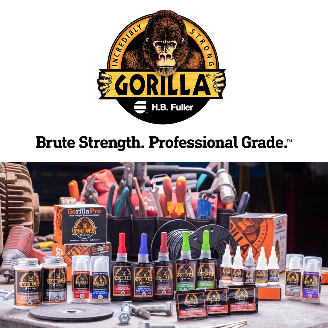 Gorilla HB Fuller Brute strength. Professional grade. product lineup