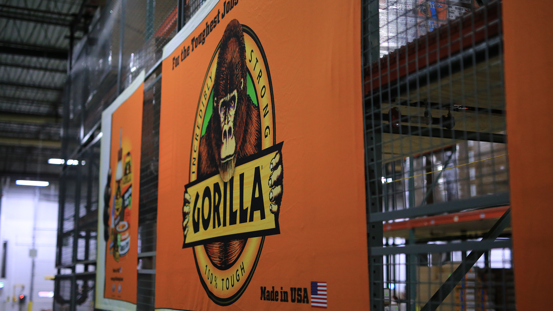 Gorilla glue store production banner image