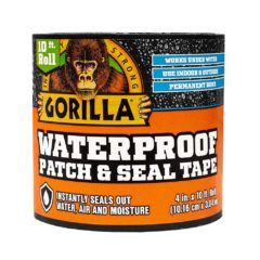 Gorilla Waterproof Patch & Seal Tape Black
