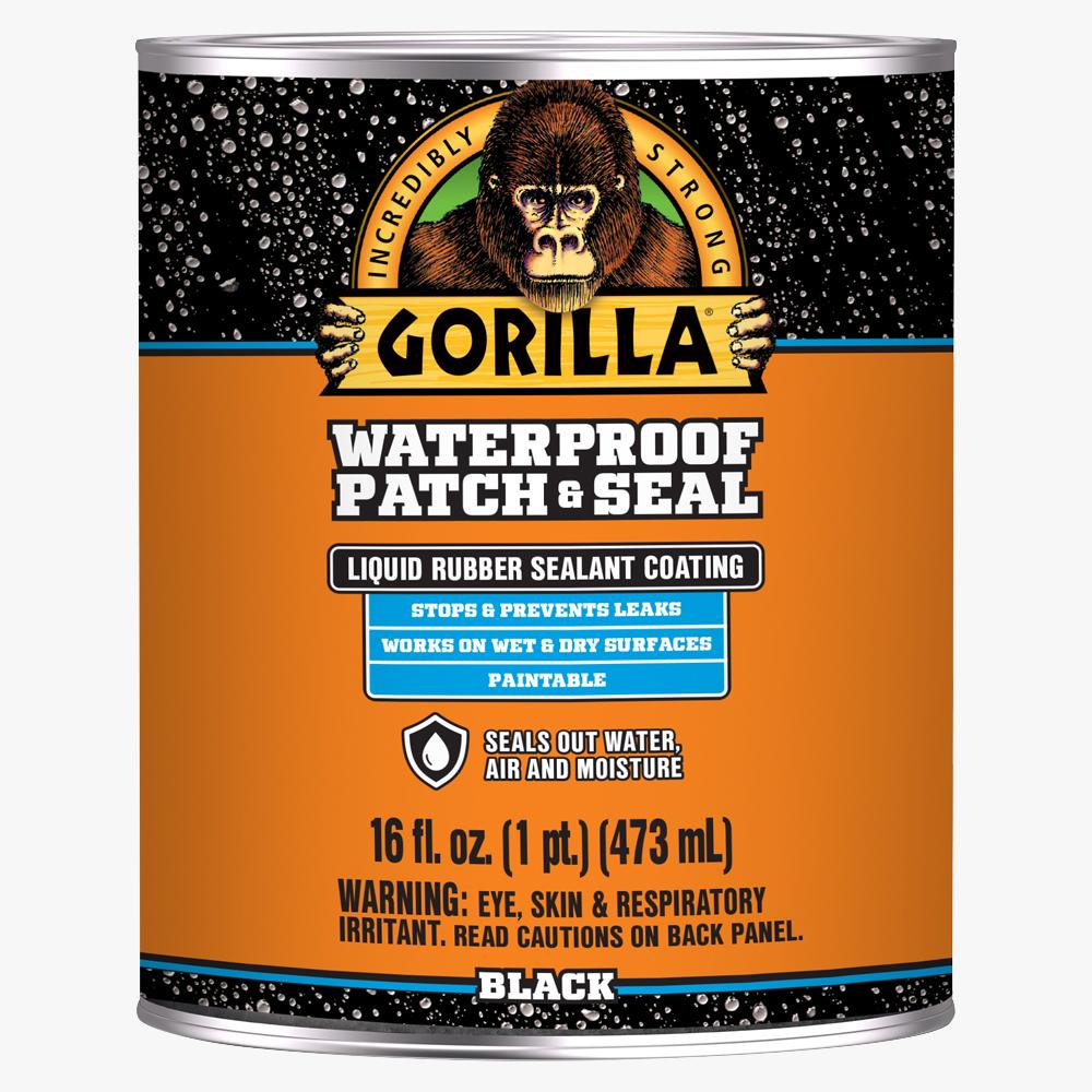 Gorilla Waterproof Patch & Seal Black Liquid