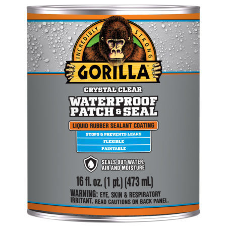 Gorilla Waterproof Patch & Seal Clear Liquid