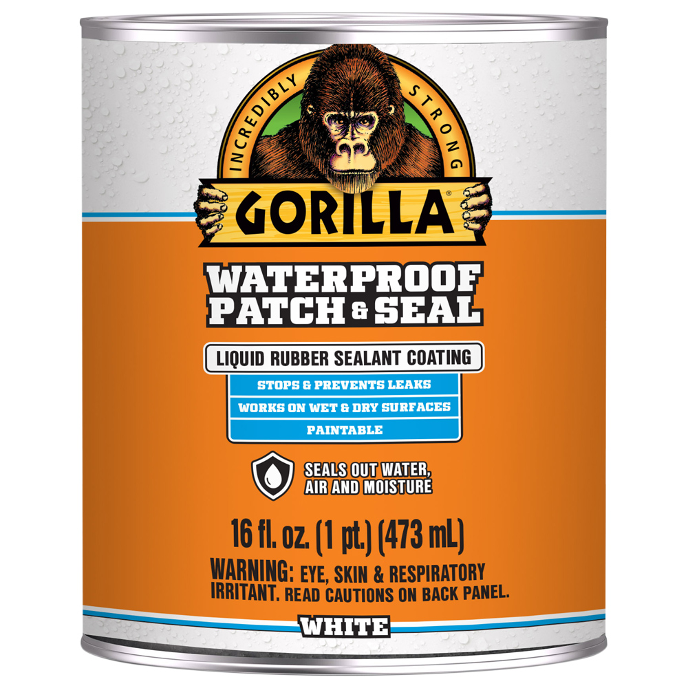 Gorilla Waterproof Patch & Seal White Liquid