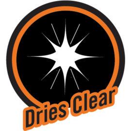 Dries clear
