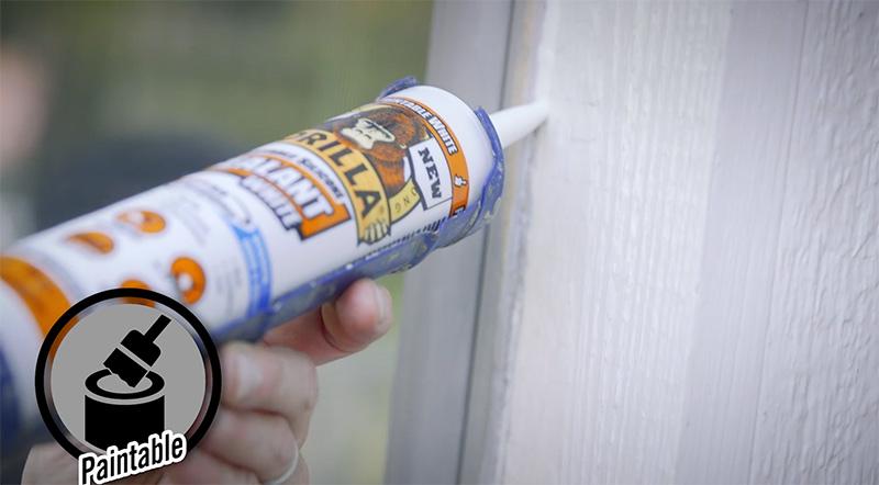 Gorilla 100% Silicone Sealant - Clear | Gorilla Glue