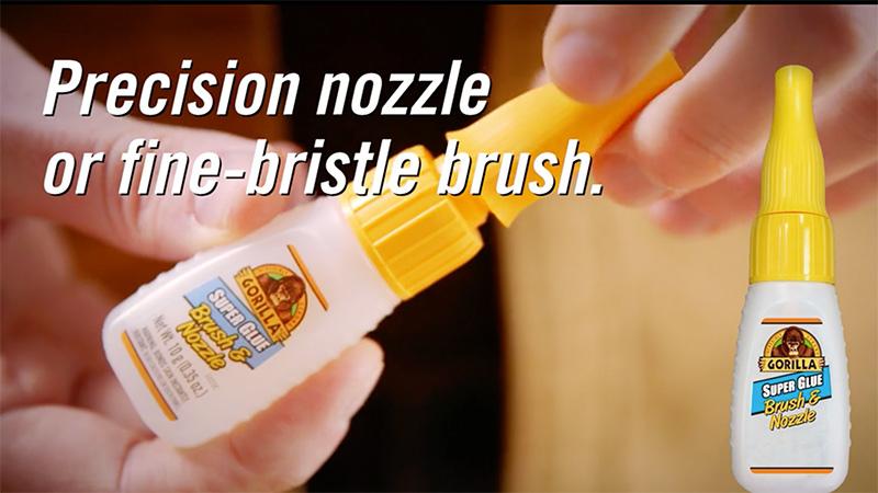 Gorilla Super Glue Brush Amp Nozzle Gorilla Glue Gorilla
