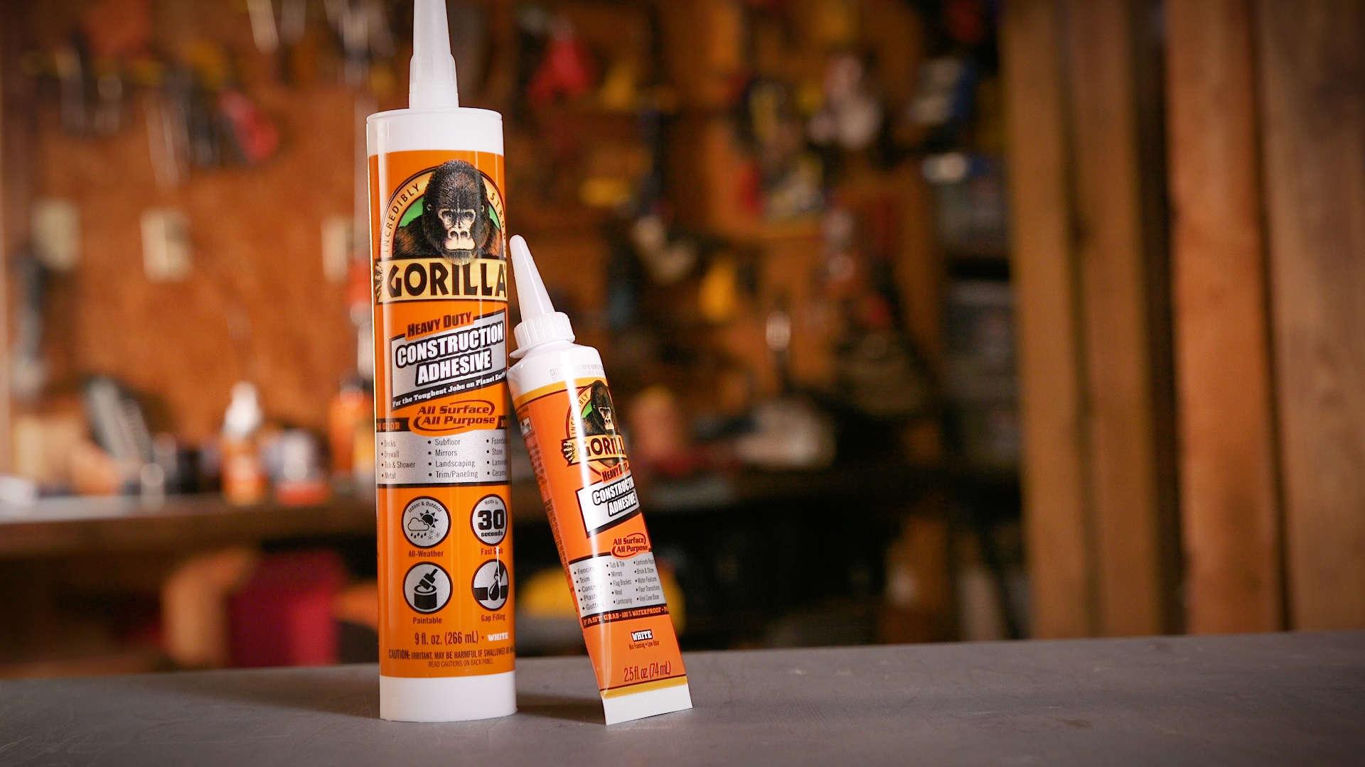 Gorilla Construction Adhesive Gorilla Glue