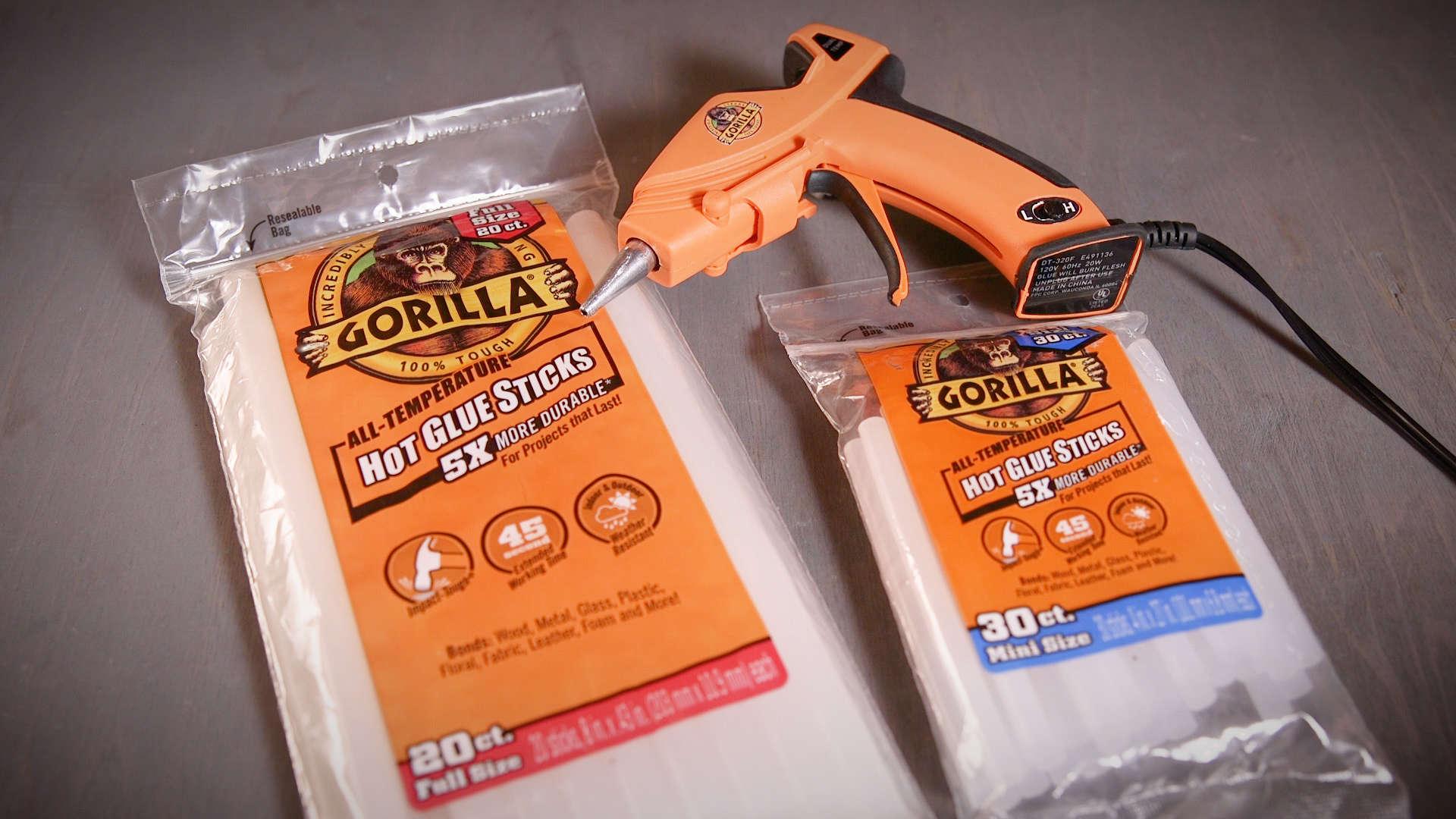 Gorilla Hot Glue Sticks | Gorilla Glue | Gorilla Glue