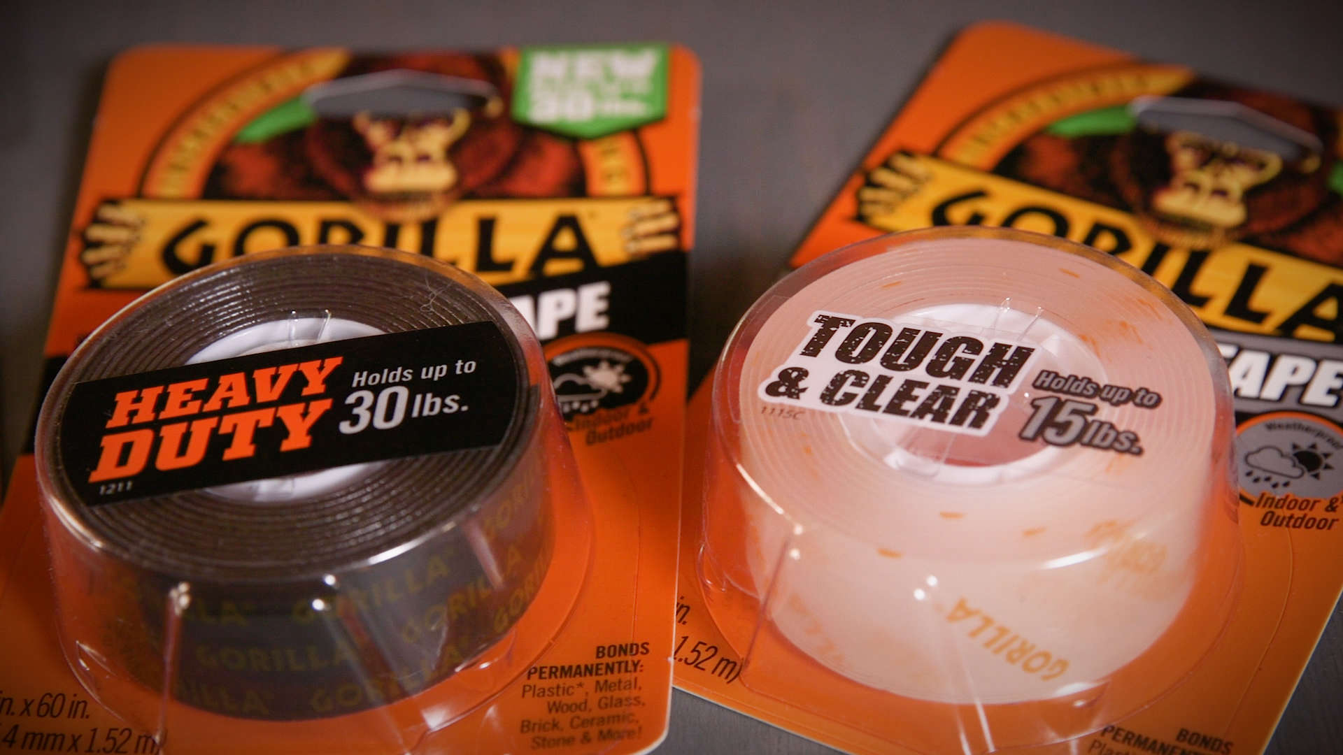 Gorilla Tough Amp Clear Mounting Tape Gorilla Glue