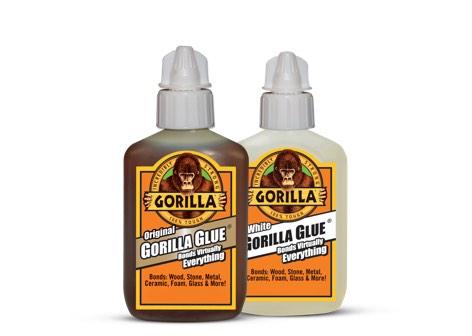 Gorilla glue bottles