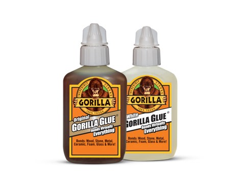 Gorilla glue bottles