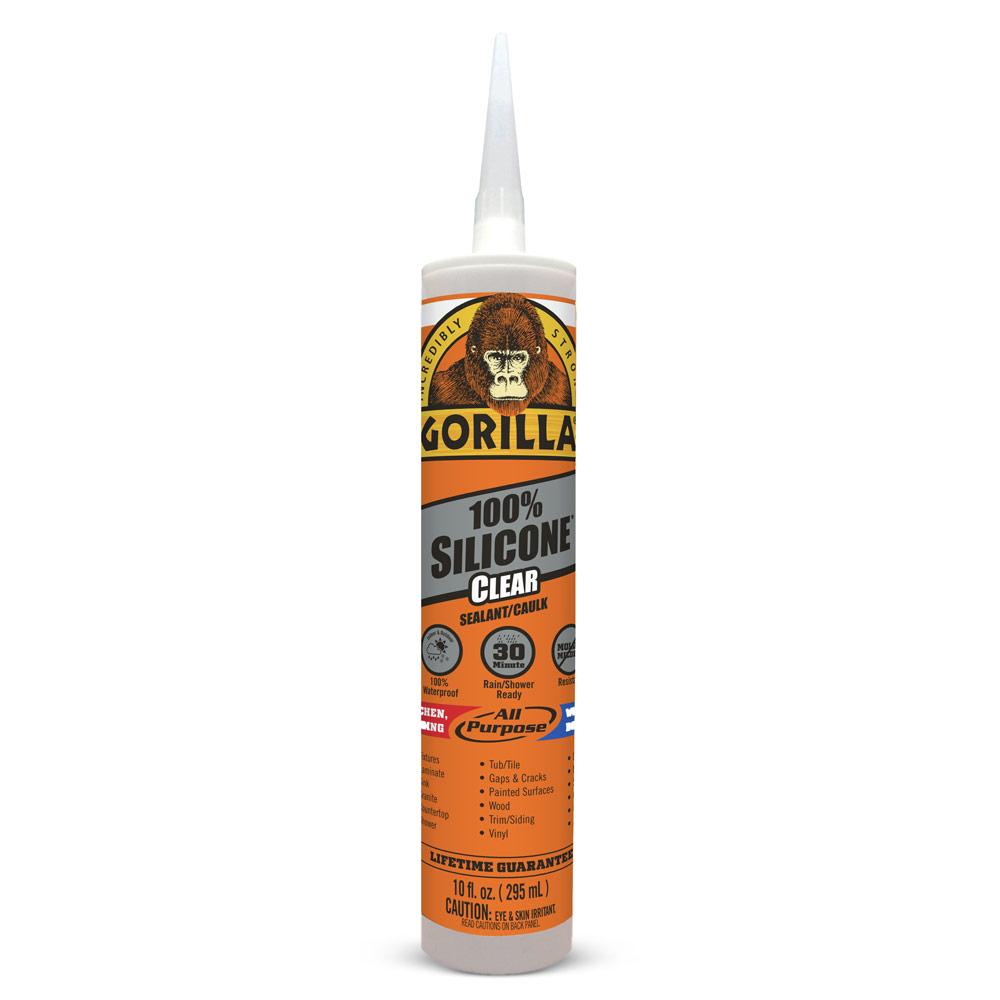 Gorilla 100% Silicone Sealant – Clear