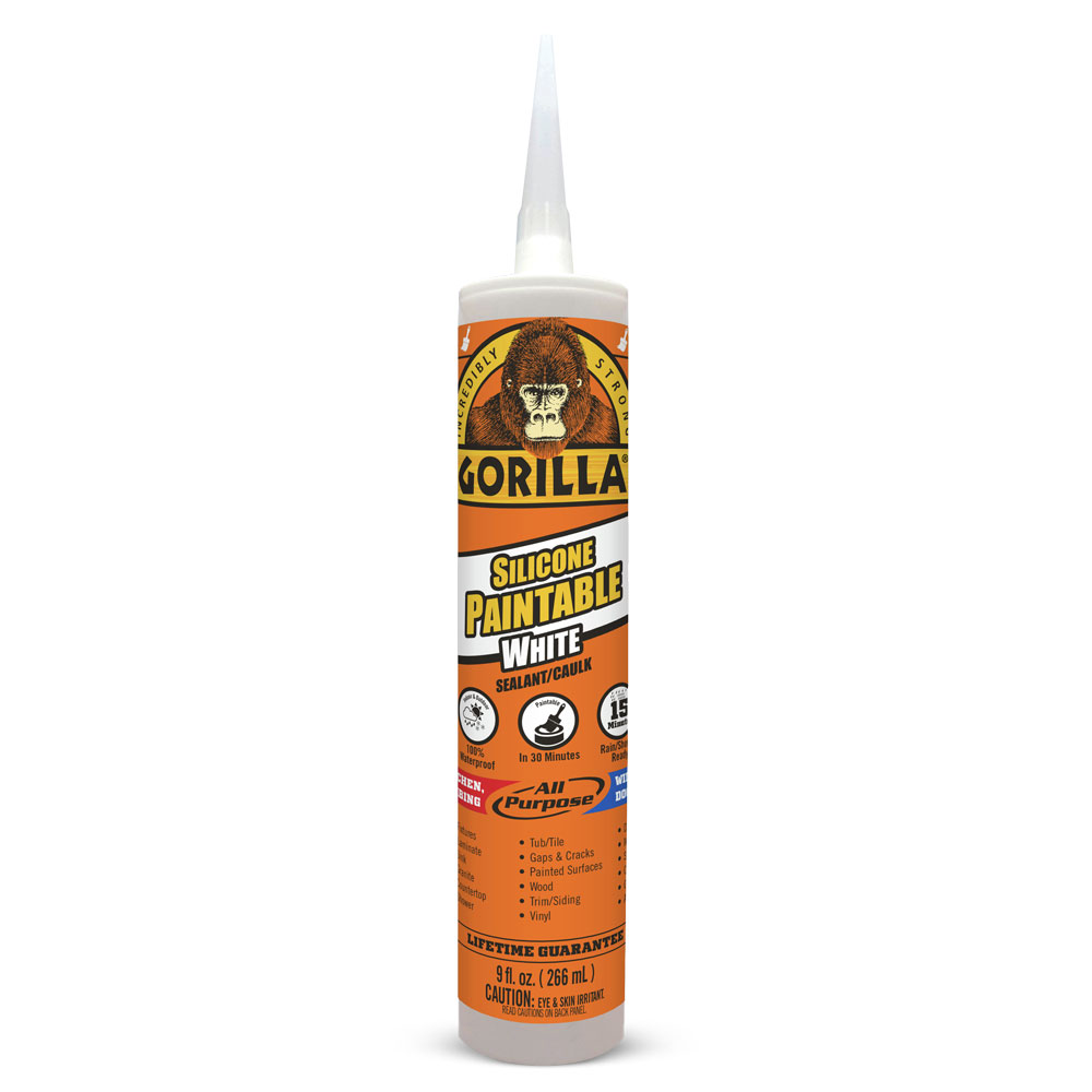 Gorilla Paintable Silicone Sealant