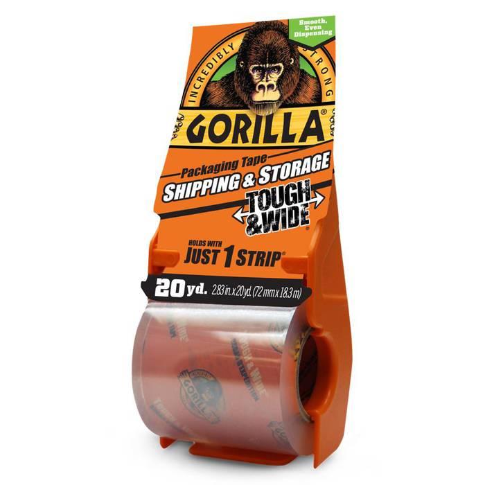 Gorilla Packaging Tape Tough & Wide
